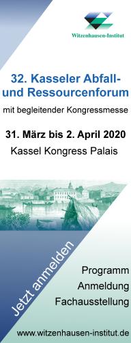 32. Kasseler Abfall- und Ressourcenforum