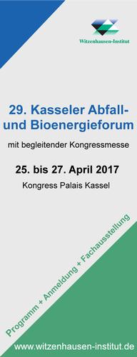 29. Kasseler Abfall- und Bioenergieforum