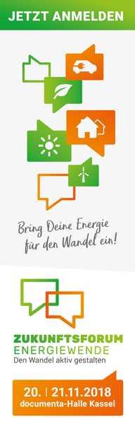 Zukunftsforum Energiewende 2018