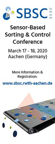 9. Sensor-Based Sorting & Control Konferenz 2020